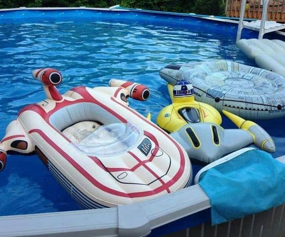 star wars pool floats
