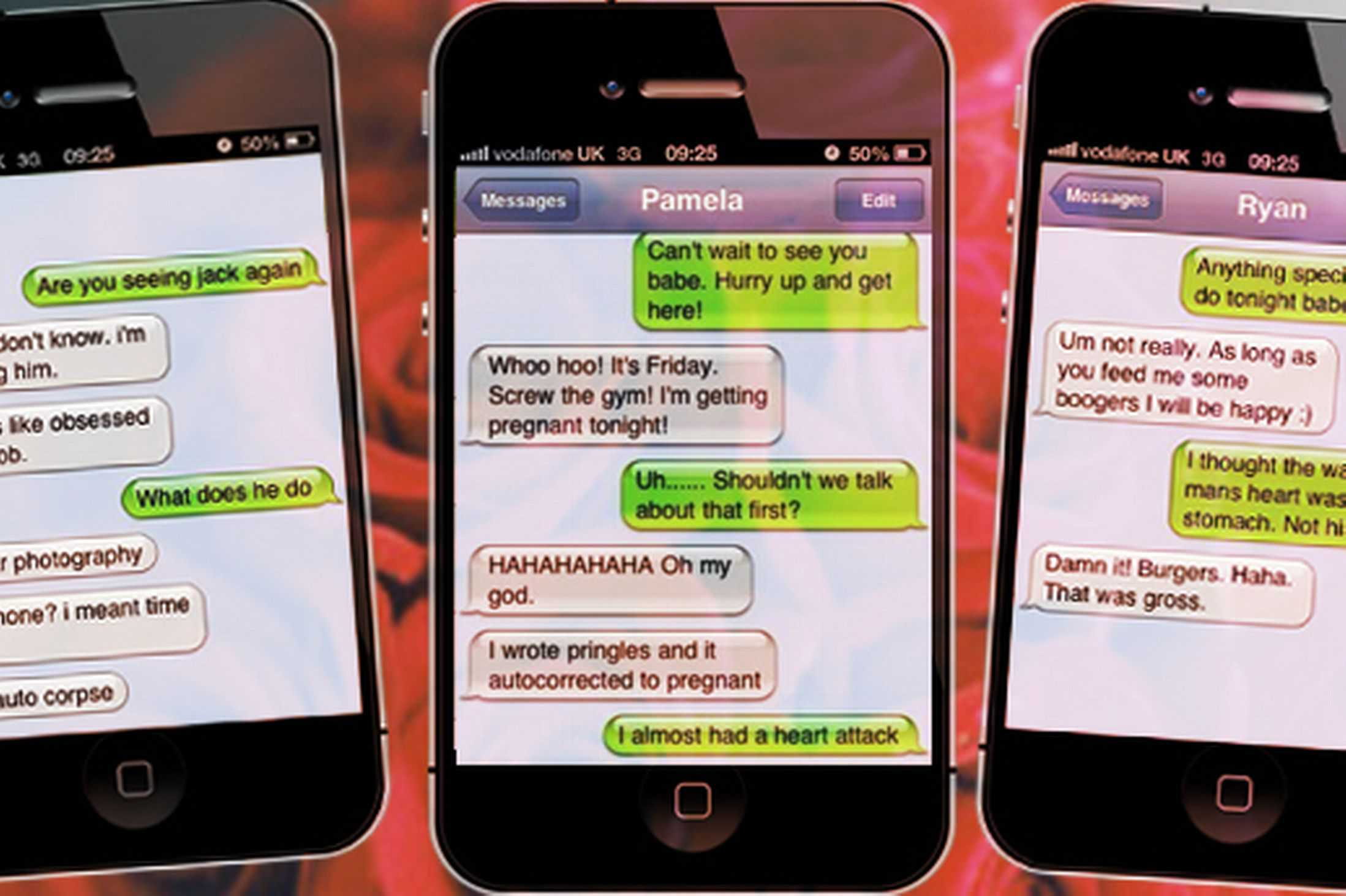 We dont always receive the texts we want to awesomejelly kristyandbryce Choice Image