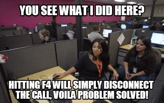 Funny Memes Job : If you work or have worked in a call center these hilarious memes