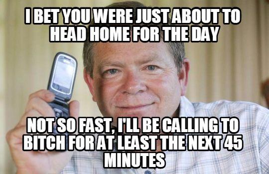 asshole caller