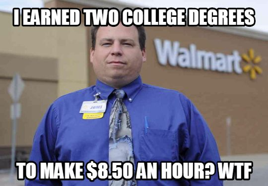 wal2 10 memes that explain exactly what wal mart employees are silently