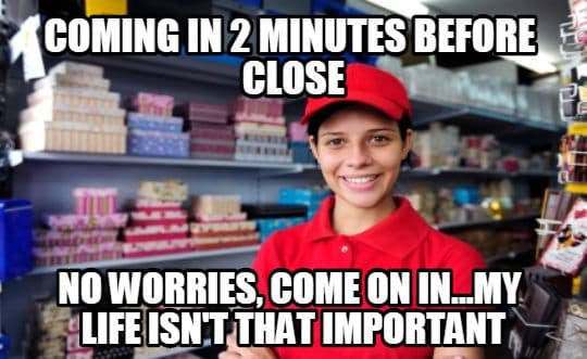 work in retail here are 15 super funny memes just for you