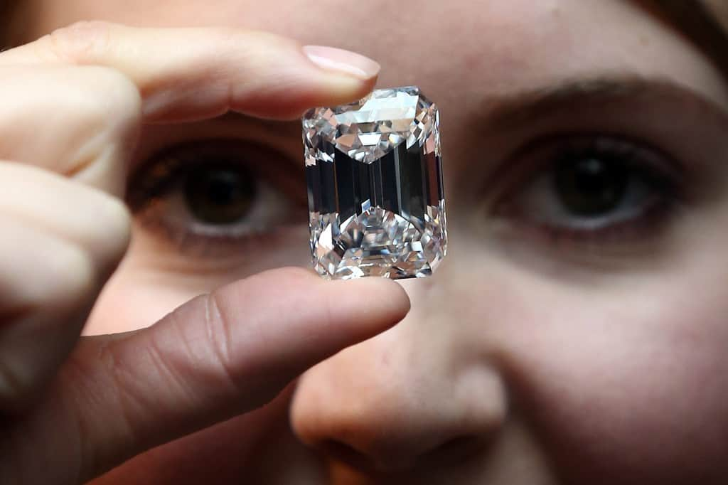 Image: Sotheby's Preview A 100 Carat Diamond