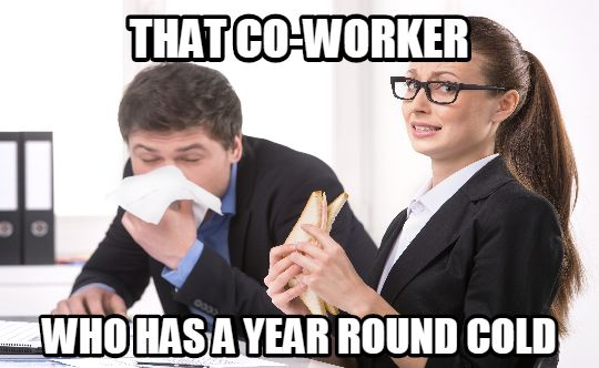 coworker9done 14 annoying co worker types