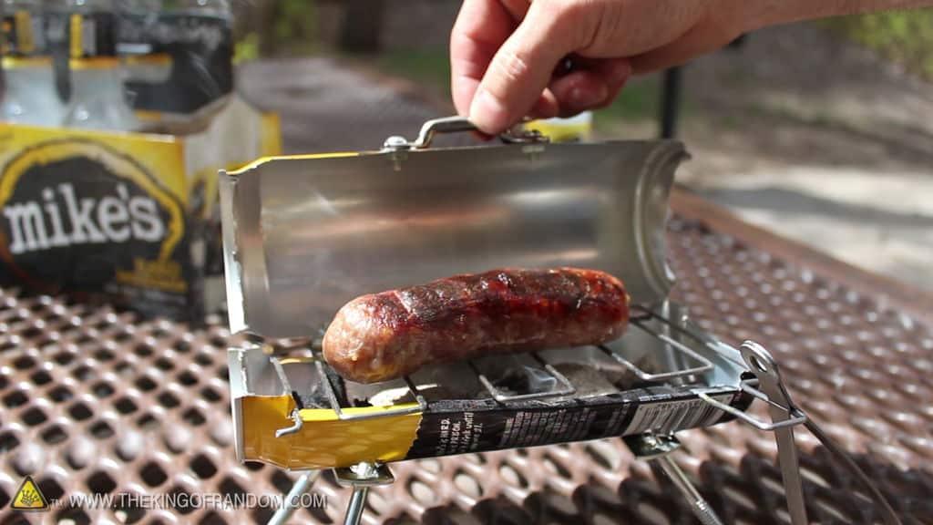 Barbecue in blik | mini barbecue blik doe-het-zelf DIY | Wonen voor Mannen