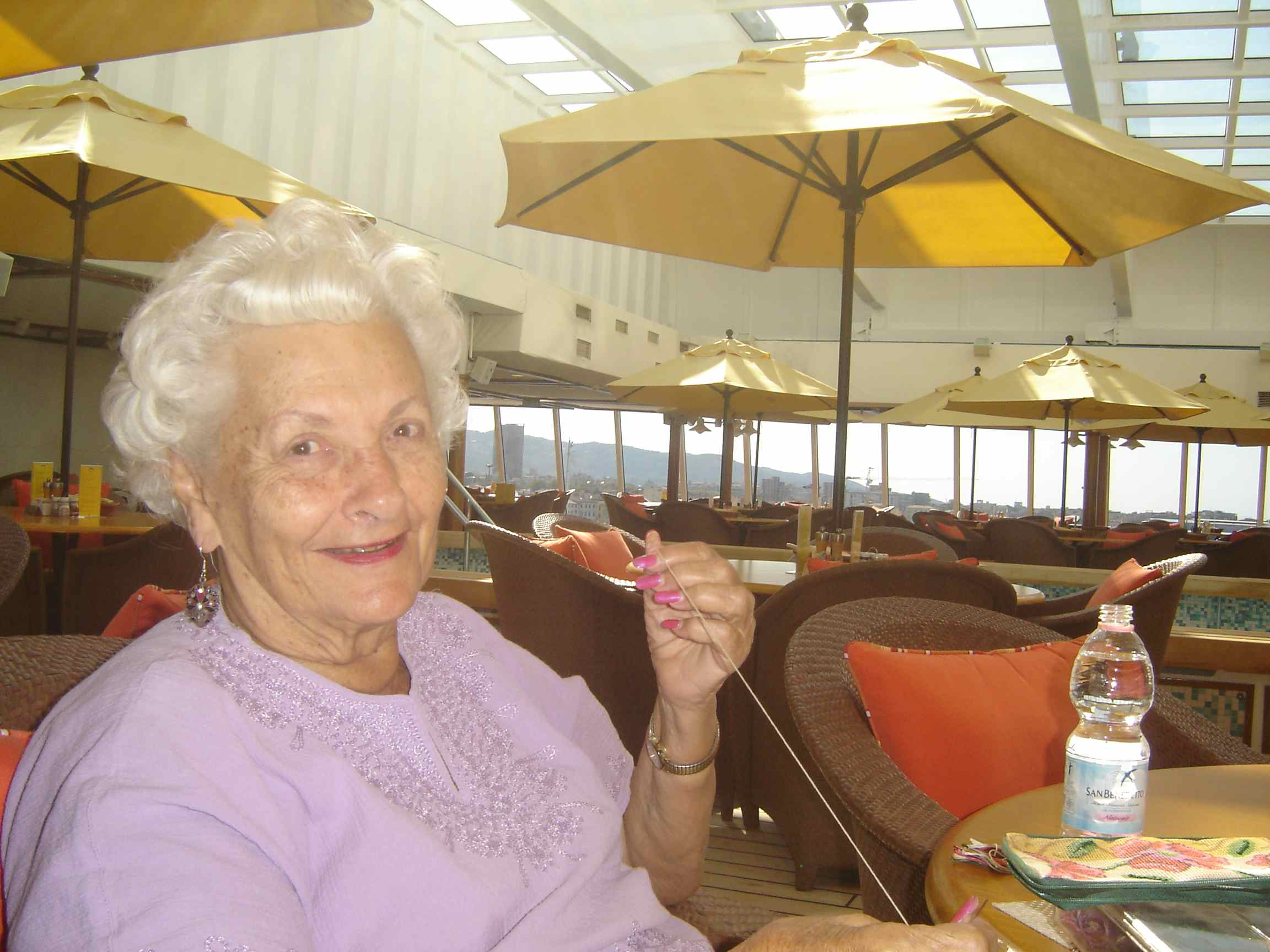 YearOld Mama Lee Lives On A Luxury Cruise Ship - Living on cruise ship