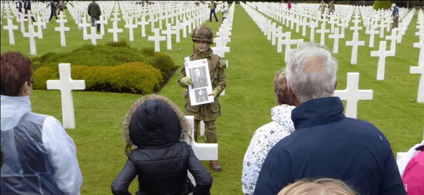 11-Year-Old Boy Holds Salute For Over An Hour
