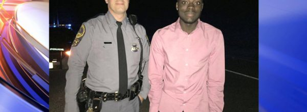 Virginia State Trooper Spends Hours With Stranded Motorist To Ensure Safety, Is Getting Praise