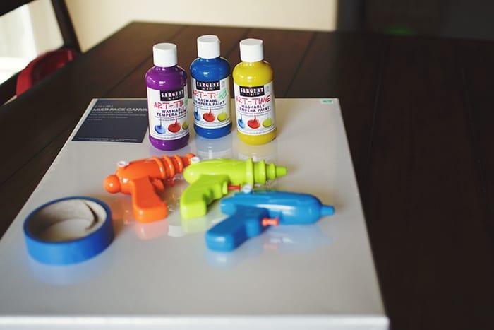 water gun painting1