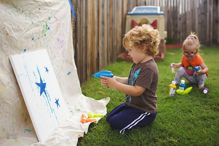 water gun painting3
