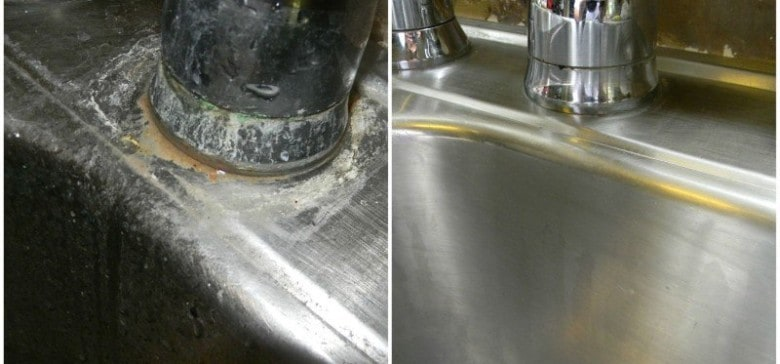 If Hard Water Stains Are Ruining The Look Of Your Kitchen Sink, Then Youu0027ll  Want To Be In On This Home Remedy Trick Discovered By DIY Confessions.