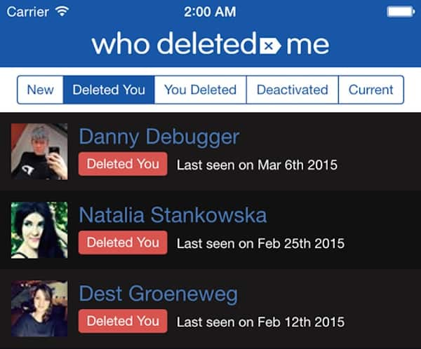 who deleted me3
