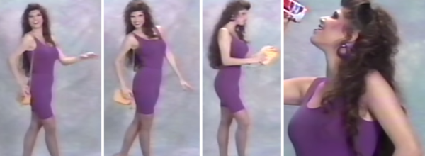 Learn How To Be A Model With This Hilarious 1980's VHS Tape Montage