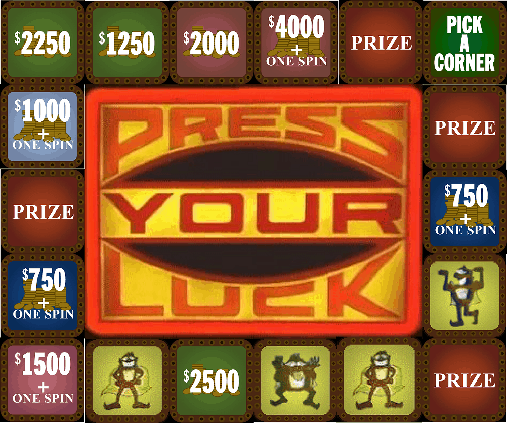 big bucks press your luck - photo #10
