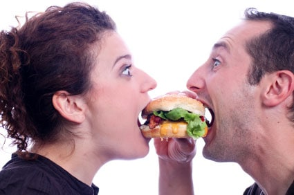 couples eat