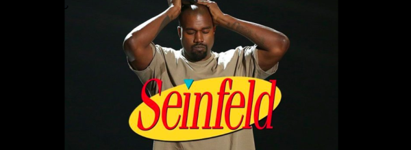 Kanye West's VMAs Speech Gets Mixed With The 'Seinfeld' Theme Song & It's Genius