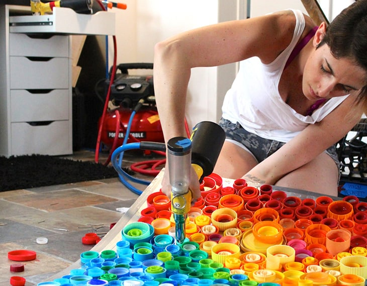 Creative ways to upcycle old plastic bottles for Art out of plastic bottles