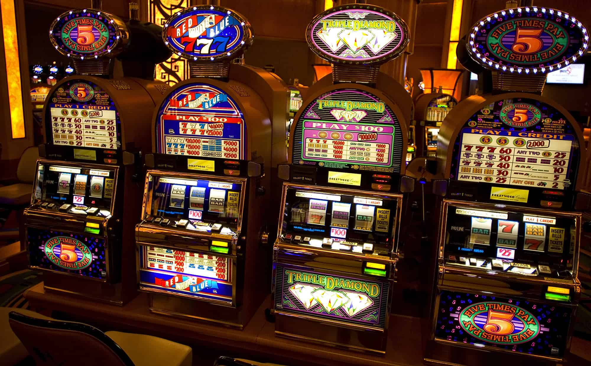 slot machines with the highest percentage of payout