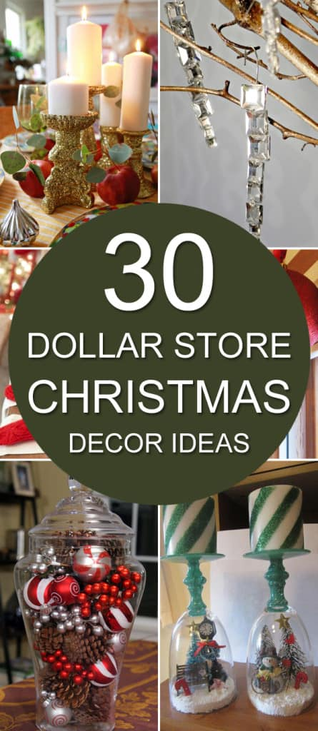 30-Dollar-Store-Christmas-Decor-Ideas & On A Budget? 30 Dollar Store Christmas Decor Ideas u2022 AwesomeJelly.com