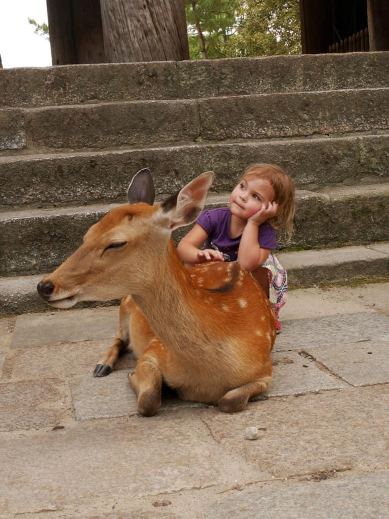 Eve+and+the+deer+Nara