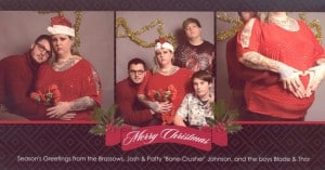 christmas card featured