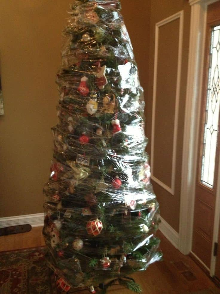 Storing Artificial Christmas Trees