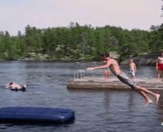 lake jump