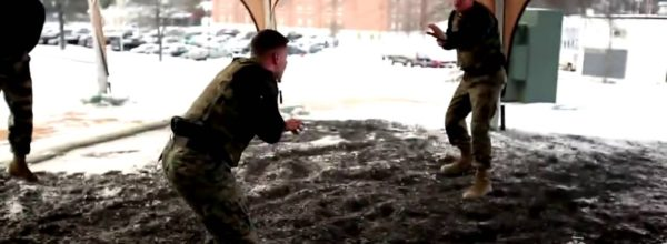 Watch What Happens When UFC Fighters Take On Experienced Marines