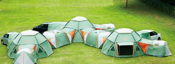 Awesome 16-Person Tent With Dining Area & Car Port Will Change The Way You Camp