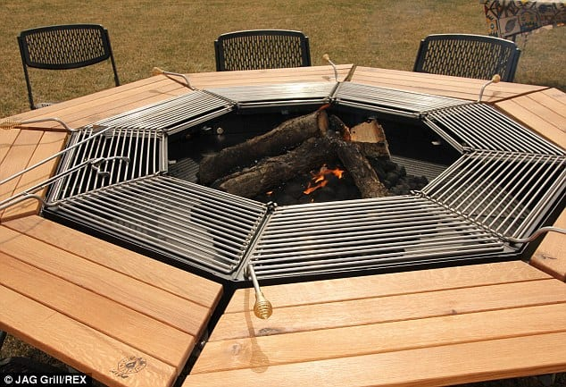 This Barbecue Picnic Table Will Forever Change How You Bbq