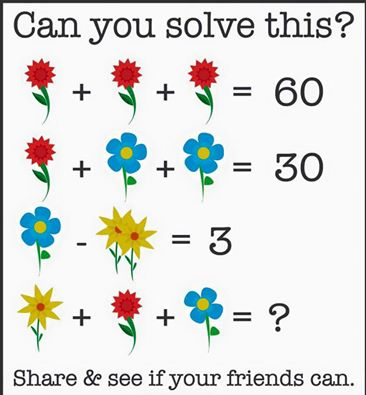 flower problem