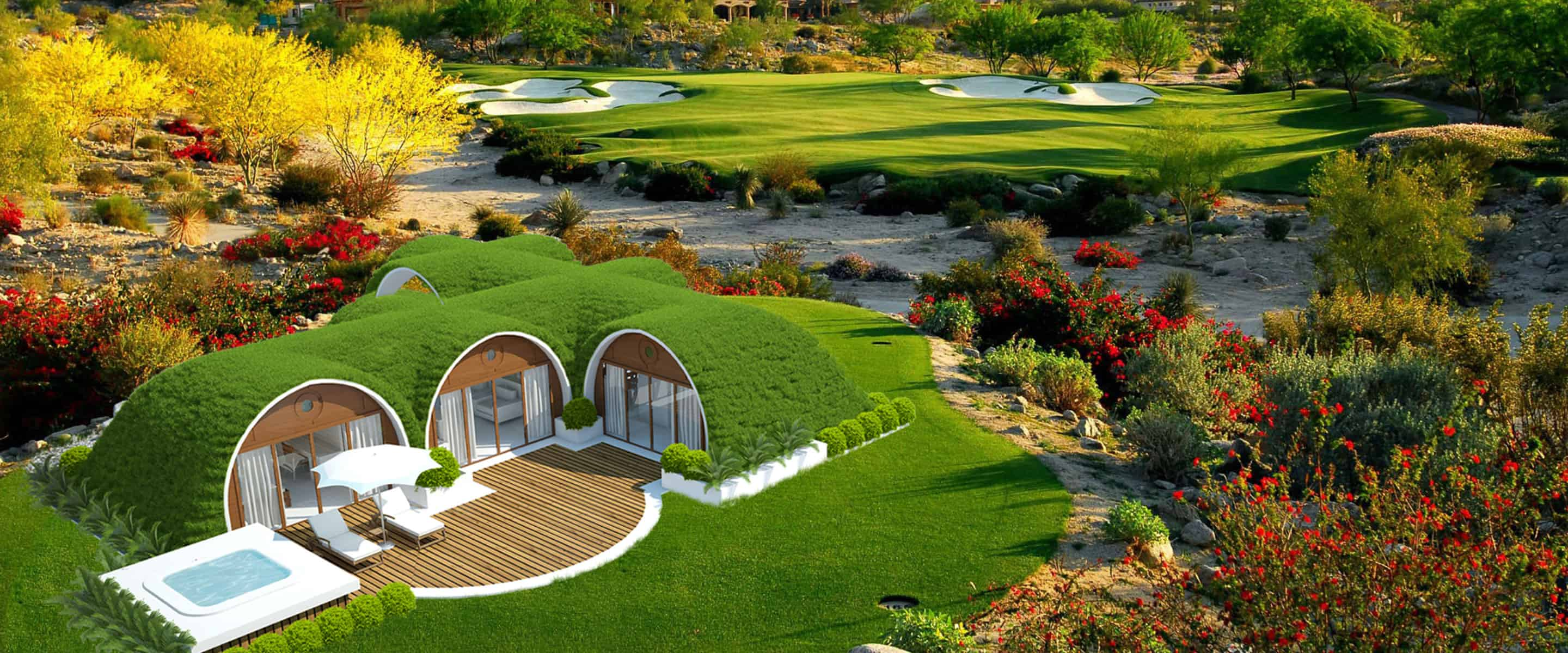 magical eco friendly hobbit homes are a must for off grid living. Black Bedroom Furniture Sets. Home Design Ideas
