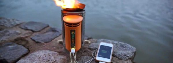 The Coolest Clean Energy Camp Stove That Generates Power For All Your Gadgets!