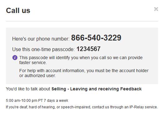 ebay call
