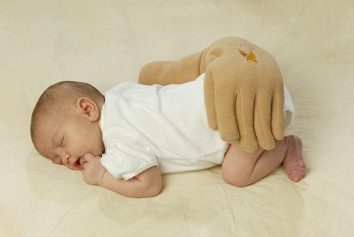 These Hand Pillows Will Guarantee You That Your Baby Is