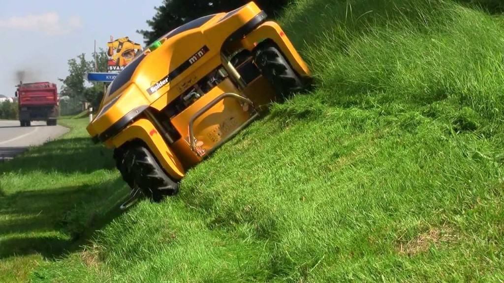 Spider lawn mower