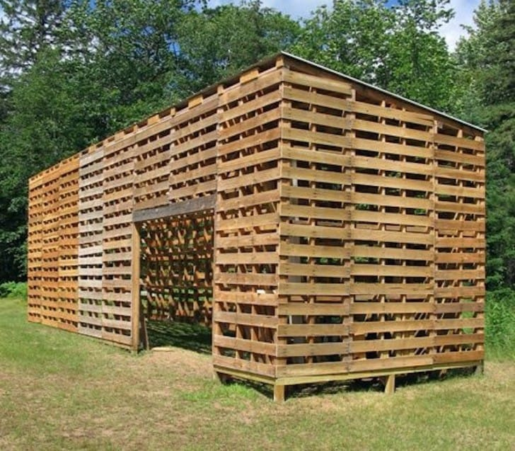 DIY Pallet Shelter Designs That Will Have You Living Large For Cheap