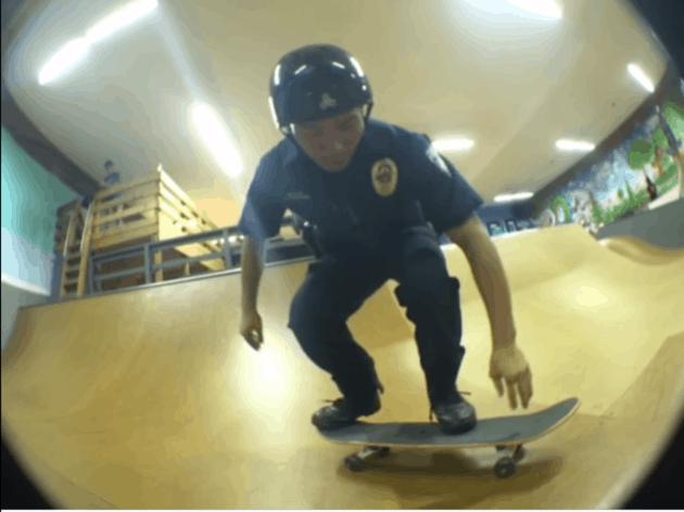 skater cop
