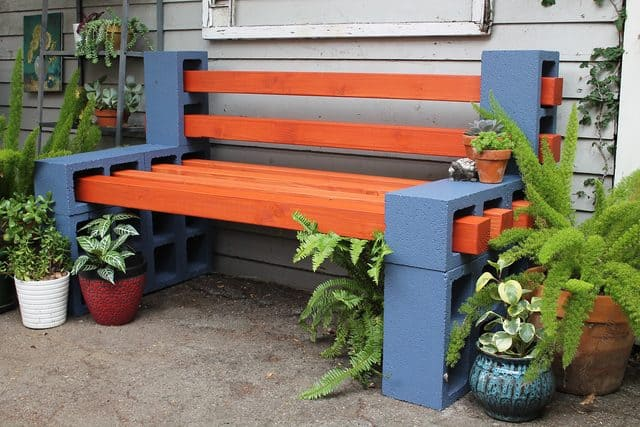 How To Make A Simple, Inexpensive Outdoor Bench! \u2022 AwesomeJelly Part 20