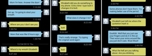 Woman's Hilarious Texts Between Her & Her Mother Are Going Viral In A Big Way!