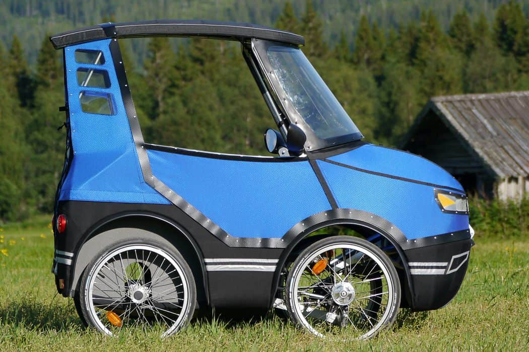 4 Wheel Bicycle Car >> This Four-Wheeled Bicycle Car Is Going To Change The Way You Ride Forever! • AwesomeJelly.com
