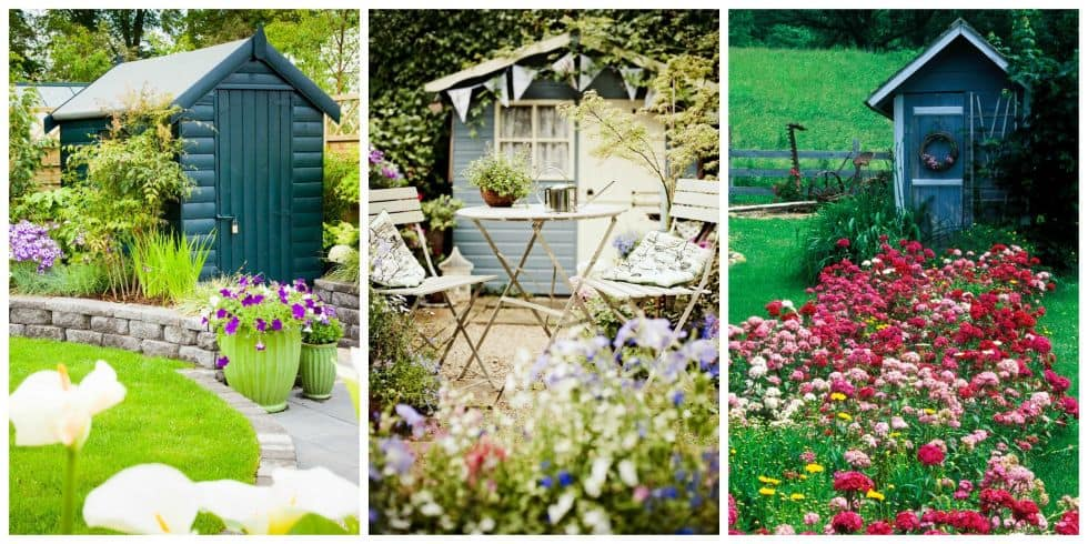 To build a she shed forget man caves this new trend has women all over the - Man caves chick sheds mutual needs ...