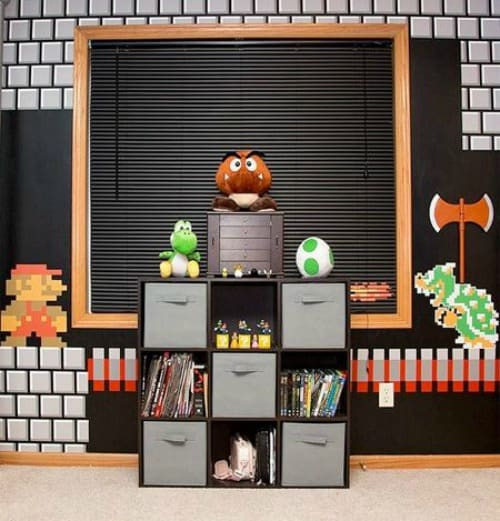 21 super awesome video game room ideas you must see Room decorating games for adults