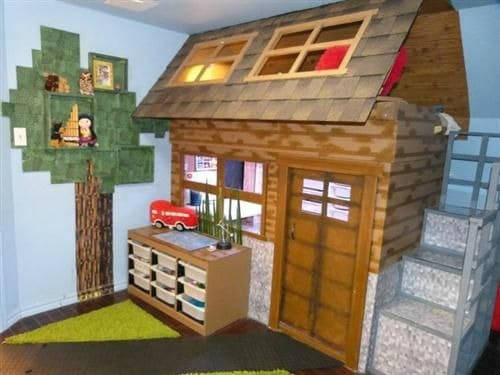 21 super awesome video game room ideas you must see for Bedroom ideas on minecraft