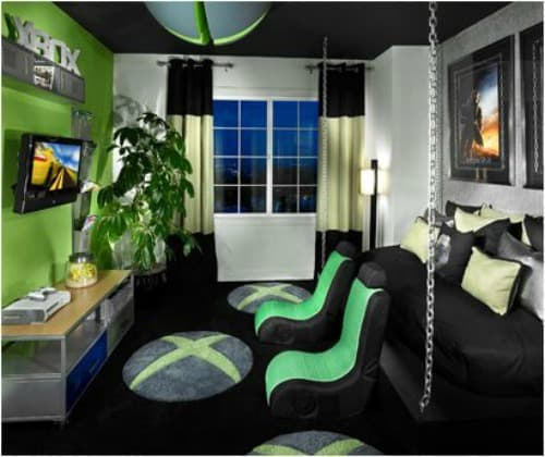 Bedroom Decorating Ideas Wallpaper Victorian Wallpaper Bedroom Bedroom Window Blinds Ideas Bedroom Colour Green: 21 Super Awesome Video Game Room Ideas You Must See