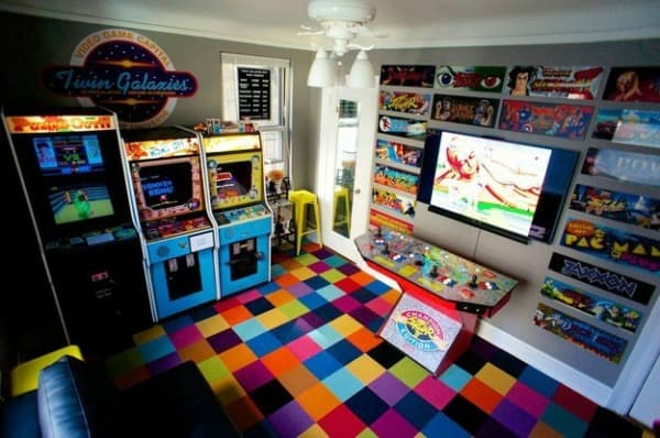 vg21. 21 Super Awesome Video Game Room Ideas You Must See
