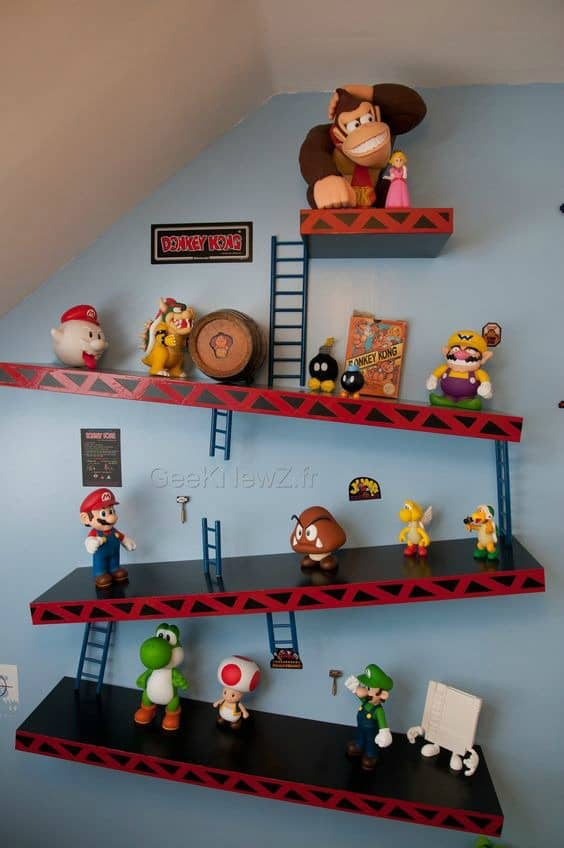 21 super awesome video game room ideas you must see for All room decoration games