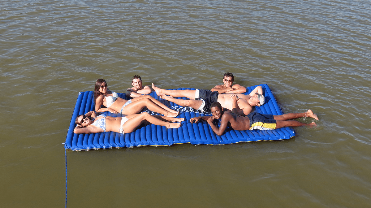 This Hydro Slide Floating Pad Is Going To Totally Make