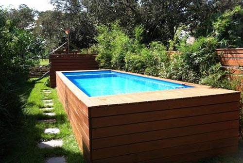 10 brilliantly awesome diy backyard pool ideas - How to build a swimming pool out of wood ...