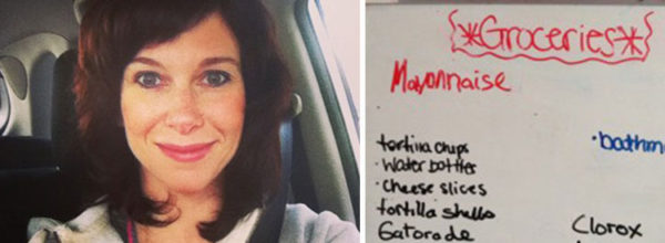 Single Mom Carefully Plans On White Board Every Day, The Reason Will Totally Change Your Perspective